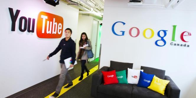 Les nouveaux locaux de Google à Toronto (Canada), le 13 novembre 2012.