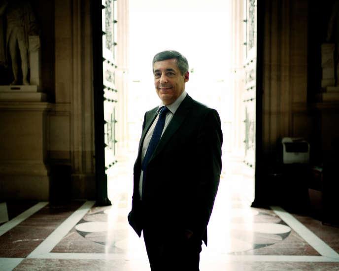 Henri Guaino à l'Assemblée nationale, le 16 mai.