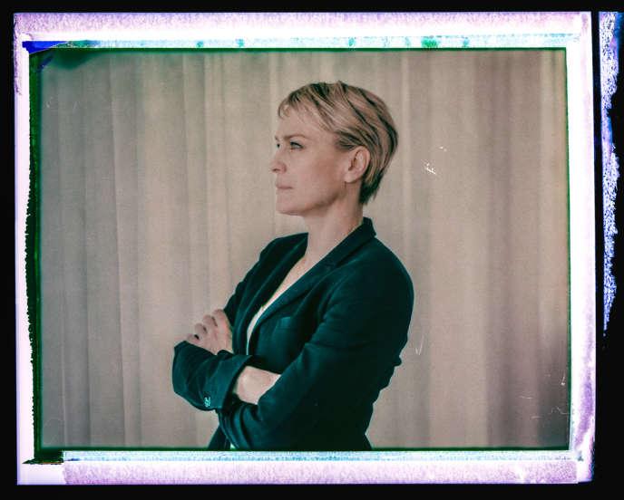 L'actrice Robin Wright, jeudi 16 mai, à Cannes.