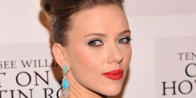 L'actrice Scarlett Johansson à New York, le 17 janvier 2013.