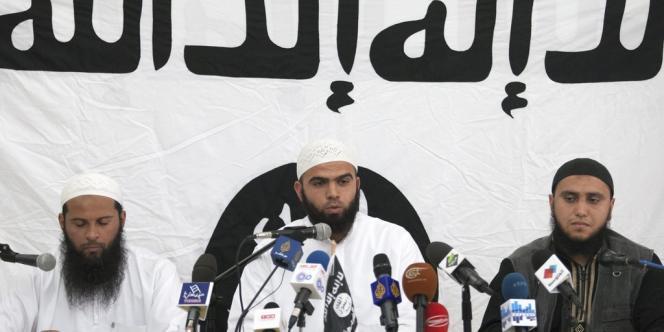 Saïf Eddine Errais, porte-parole du groupe salafiste djihadiste tunisien Ansar al-charia.