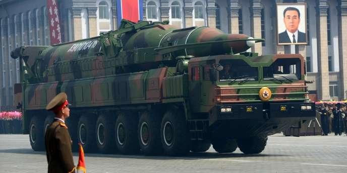 Pyongyang disposerait de 50 lanceurs de missiles de moyenne portée et 150 pour des missiles de courte portée.