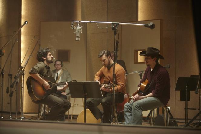 Oscar Isaac, Justin Timberlake et Al Cody dans le film américain de Joel et Ethan Coen,