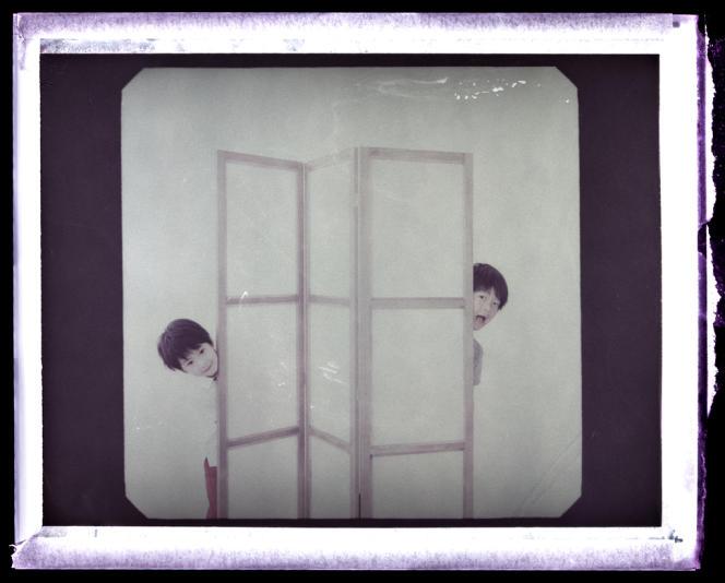 Keita Ninomiya (à gauche) et Shogen Hwang, vendredi 17 mai, à Cannes.