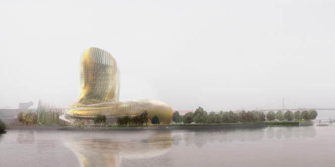 Bordeaux. Le projet de la Cité des civilisations du vin, qui devrait ouvrir ses portes début 2016.