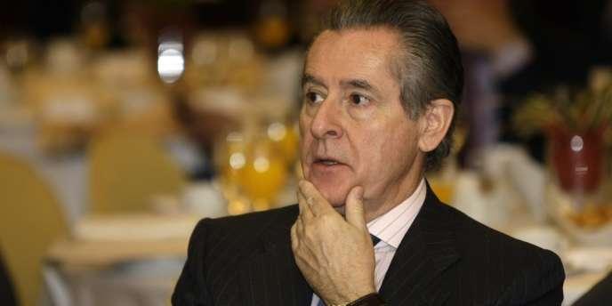 Miguel Blesa, ancien président de Caja Madrid, le 31 mars 2009.