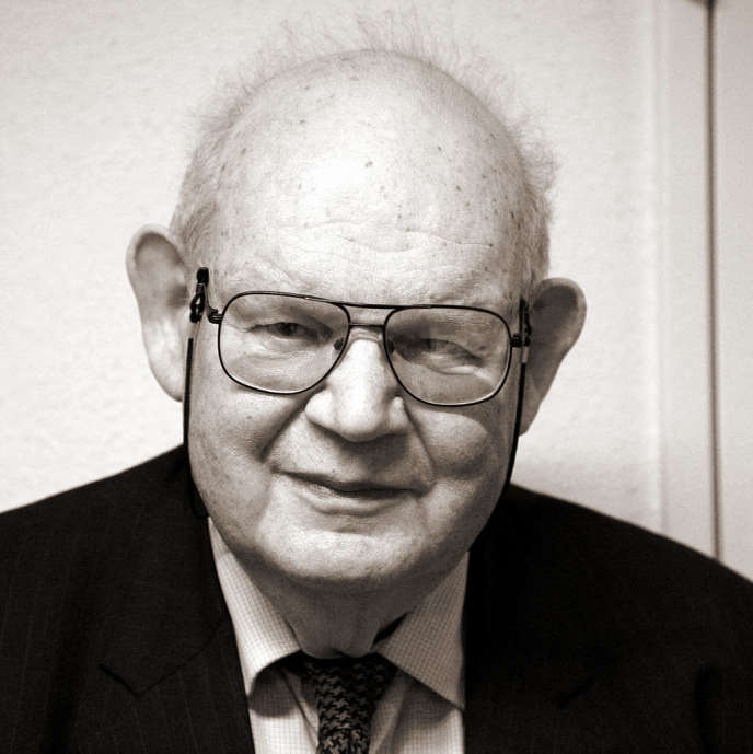 Benoît Mandelbrot, en mars 2007.