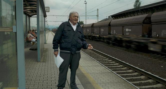 Claude Lanzmann dans le documentaire