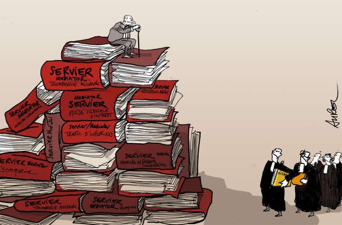 Jacques Servier, patron éponyme du premier groupe pharmaceutique français, a été mis en examen, le 11 décembre 2012, pour