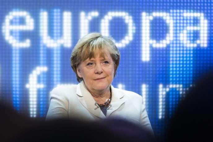 Angela Merkel, le 16 mai, à Berlin.