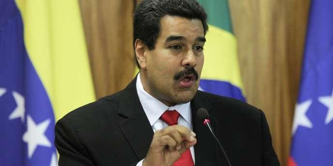 Le président vénézuélien Nicolas Maduro, le 9 mai à Brasilia.