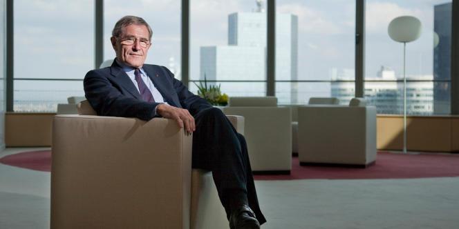 Gérard Mestrallet, le patron de GDF Suez, au siège du groupe, à la Défense, le 17 mai.