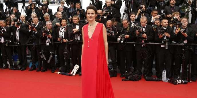 La France n'acceptera pas que les services audiovisuels soient inclus dans le mandat de la Commission européenne destiné à négocier un futur pacte de libre échange avec les Etats-Unis, d'après Aurélie Filippetti (ici à Cannes, le 18 mai 2013).