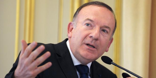 Pierre Gattaz, patron de Radiall, candidat à la présidence du Medef, le 14 mai.