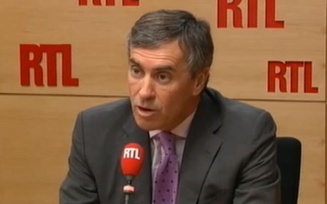 Jérôme Cahuzac, au micro de RTL.
