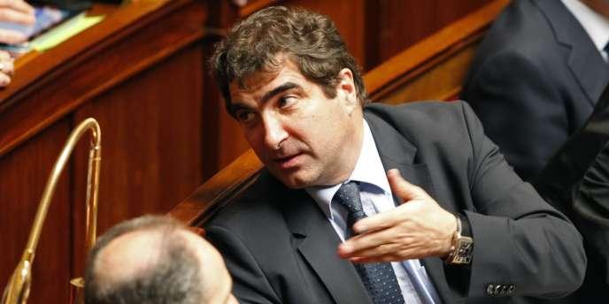 Christian Jacob, le chef de file des députés UMP, le 23 avril à l'Assemblée nationale.