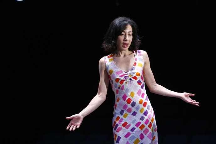 L'écrivain-comédienne Yasmina Reza est la lauréate (catégorie roman français) du premier Prix littéraire du