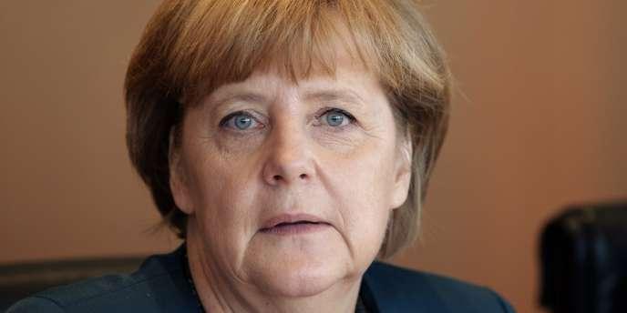 Angela Merkel, le 22 mai à Berlin.