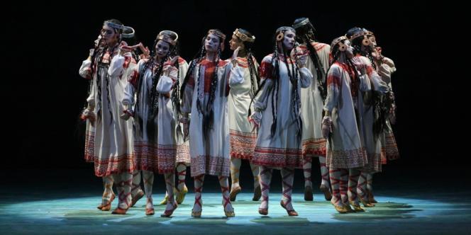 Les danseurs du Théâtre Mariinsky.