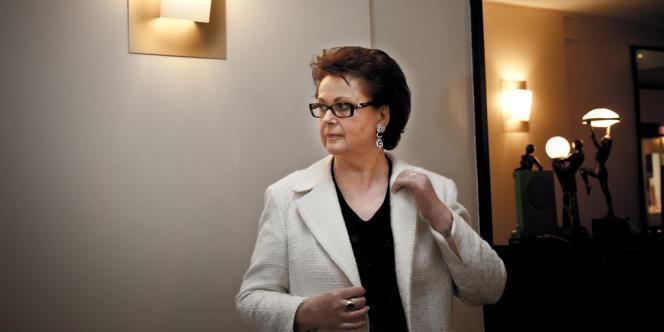 Christine Boutin, présidente du Parti chrétien-démocrate (PCD, associé àl'UMP).