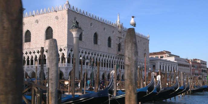 Le Palais des doges à Venise.