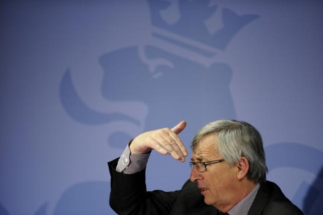 Jean-Claude Juncker lors du sommet de Bruxelles, le 22 mai.
