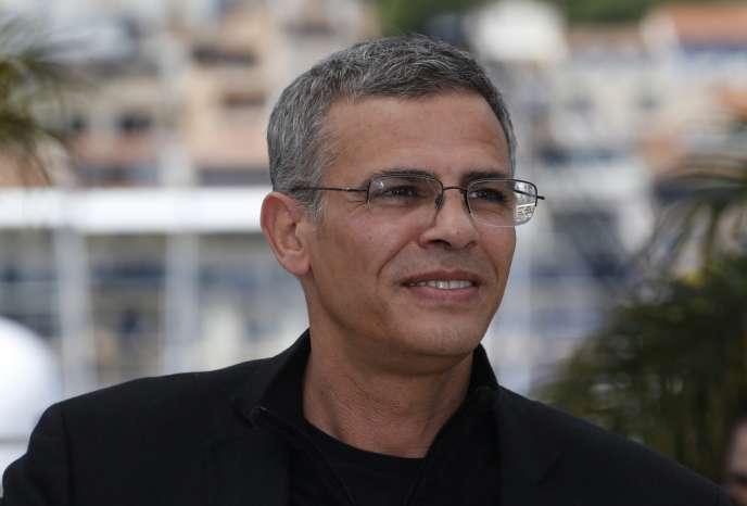 Le réalisateur Abdellatif Kechiche lors d'une séance photo pour la projection de son film,