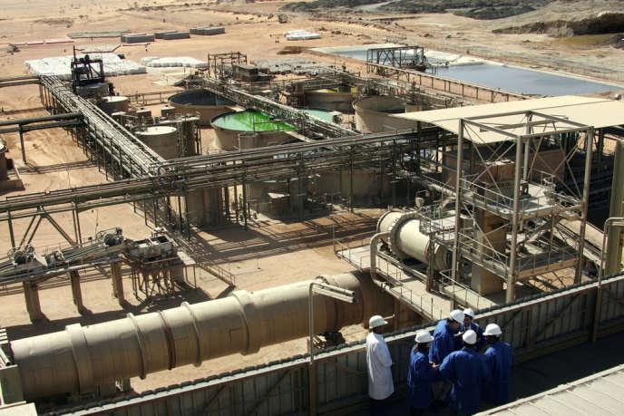 La mine d'uranium d'Arlit, au Niger.