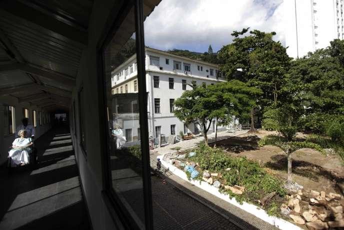 A l'hôpital Saint-François d'Assise, à Rio, le 10 mai.