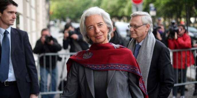 Christine Lagarde a reçu le soutien jeudi du FMI, dont un des porte-parole a assuré qu'il continuait à apporter