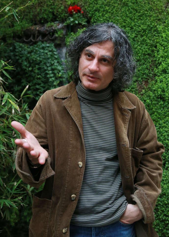 Le réalisateur libanais Ziad Doueiri à Paris, le 10 mai 2013.