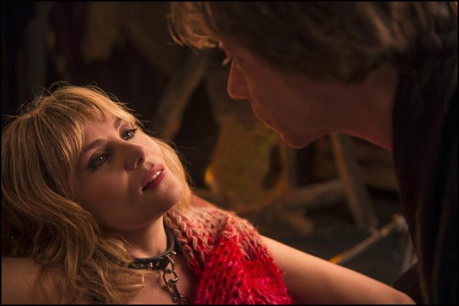 Emmanuelle Seigner et Mathieu Amalric dans le film français de Roman Polanski,