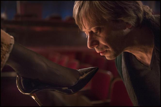 Mathieu Amalric dans le film français de Roman Polanski,