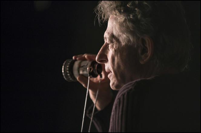Roman Polanski sur le tournage de son film,