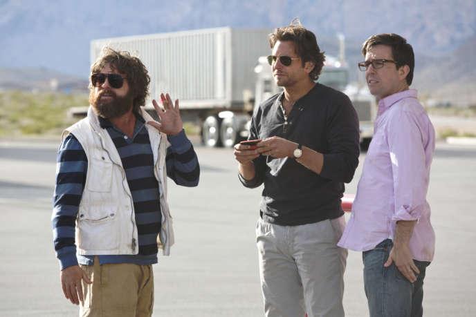 Zach Galifianakis, Bradley Cooper et Ed Helms dans le film américain de Todd Phillips,