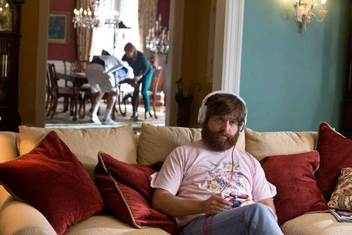 Zach Galifianakis dans le film américain de Todd Phillips,