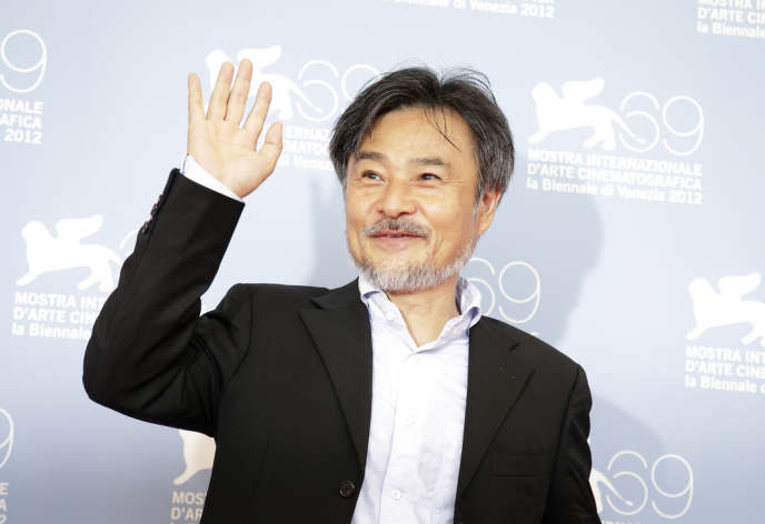 Le réalisateur japonais Kiyoshi Kurosawa lors du 69e Festival du film de Venise, le 30 août 2012.