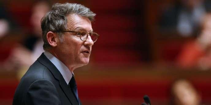 Le ministre de l'éducation, Vincent Peillon, le 11 mars, à l'Assemblée.