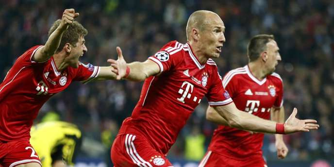 Robben a inscrit le but de la victoire pour Munich.