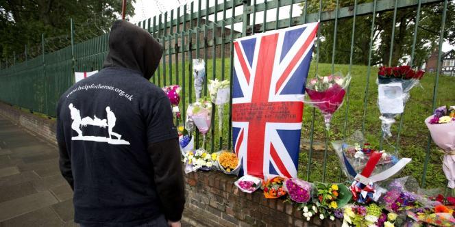 Quartier de Woolwich Barracks, dans la banlieue in Londres, vendredi 24 mai 2013.