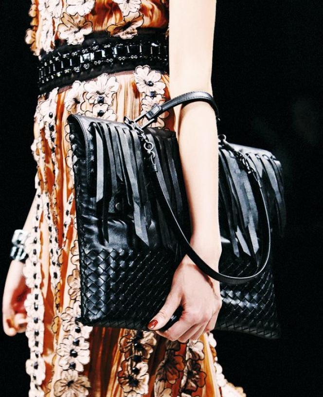 Sacs et chaussures en peau représentent plus d'un quart des ventes de produits de luxe (ici Bottega Veneta).