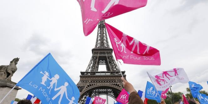 La Manif pour tous, le 26 mai 2013.