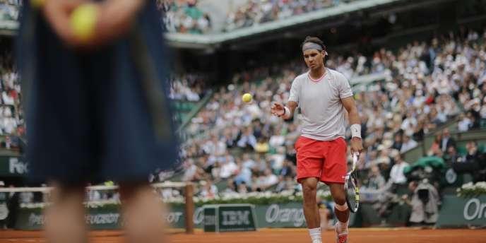 Rafael Nadal, le 27 mai à Paris.