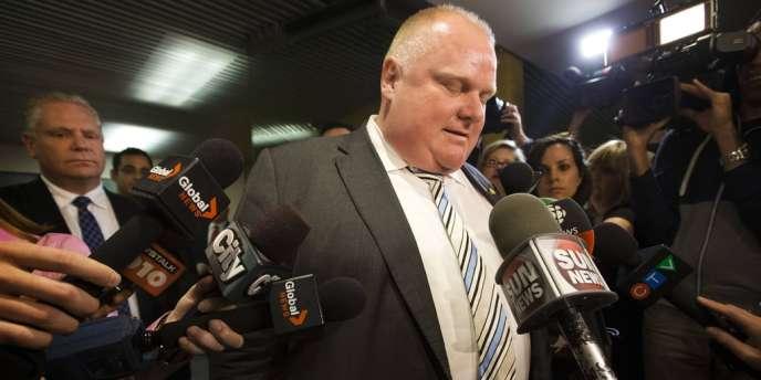 Le maire de Toronto, Rob Ford, le 27 mai.