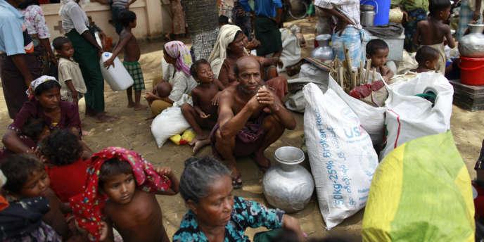Les affrontements avec les bouddhistes de l'Etat de Rakhine, l'an dernier, ont fait au moins 192 morts et 140 000 sans-abri.