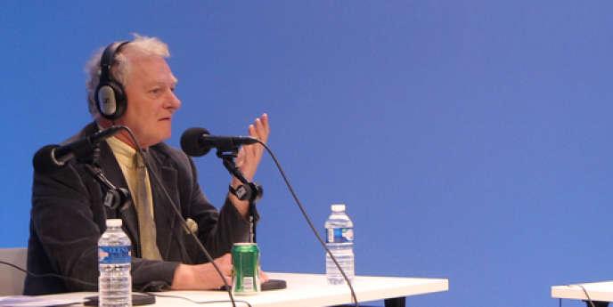 Guy Carcassonne lors du lancement de la webradio