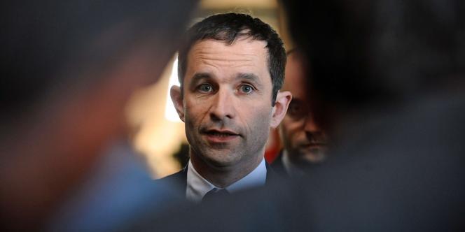 Benoît Hamon, le 17mai2013.