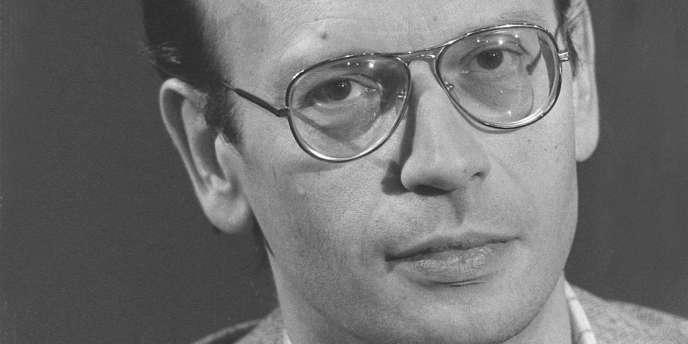 Michel-Antoine Burnier a été proche de Jean-Paul Sartre, Bernard Kouchner ou encore Patrick Rambaud (ici le 15 octobre 1982).