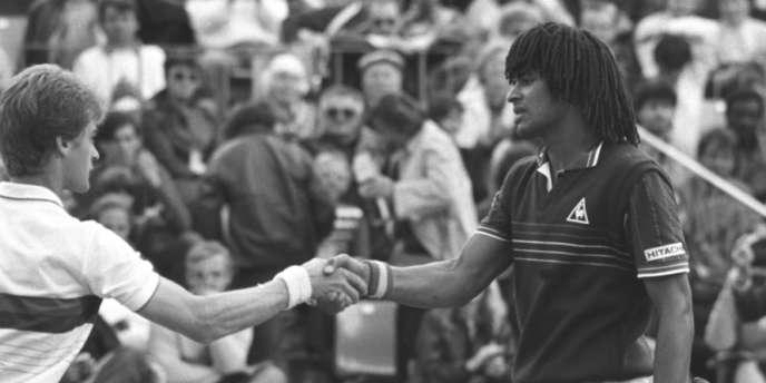 Mardi 24 mai 1983, 1er tour à Roland-Garros face au Suédois Anders Järryd (86e) : 6-1, 6-0, 6-2.