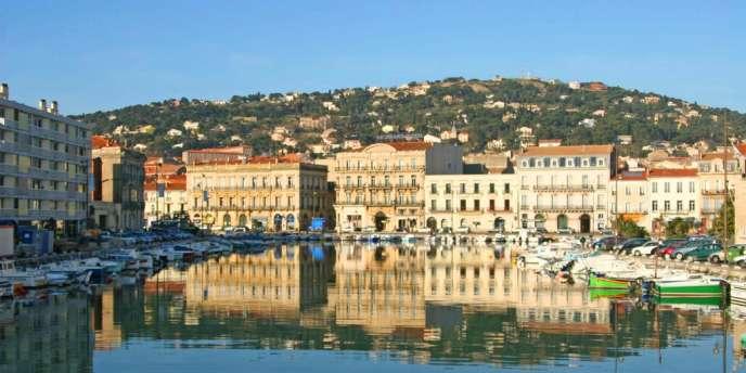 Vue de la ville de Sète.